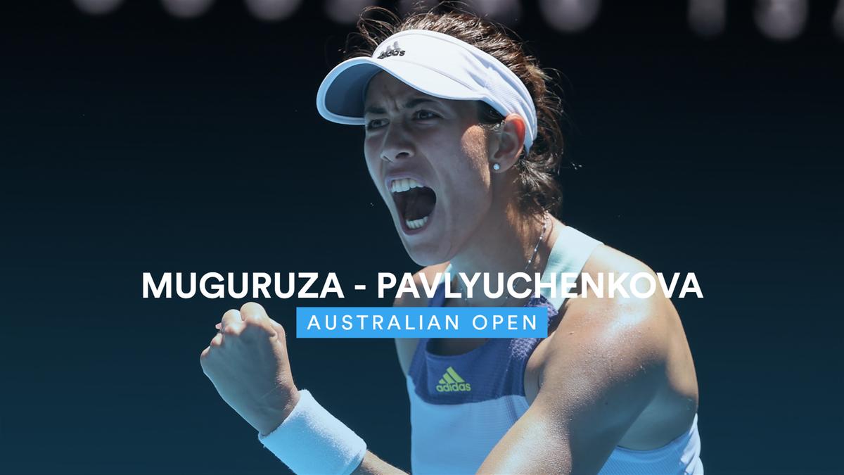 Australian Open - Highlights Muguruza - Pavlyuchenkova