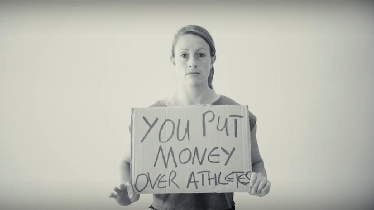 """""""Vous avez fait passer l'argent avant les athlètes"""""""