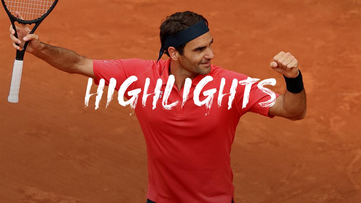 Roland Garros | Bij vlagen briljante Federer te sterk voor Cilic