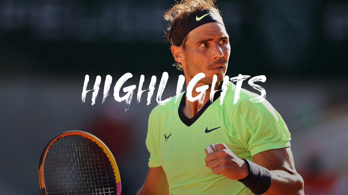 Roland Garros | Hoogtepunten Nadal - Popyrin