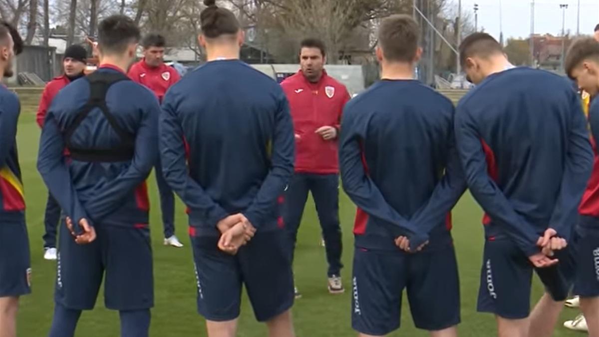 Germania - România, Euro U21 | Adrian Mutu, discurs superb la ultimul antrenament (Sursa: FRF TV)