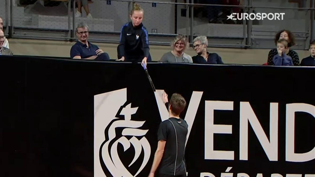 ATP Vendée : Maden vs. Ymer - Ymer's passing