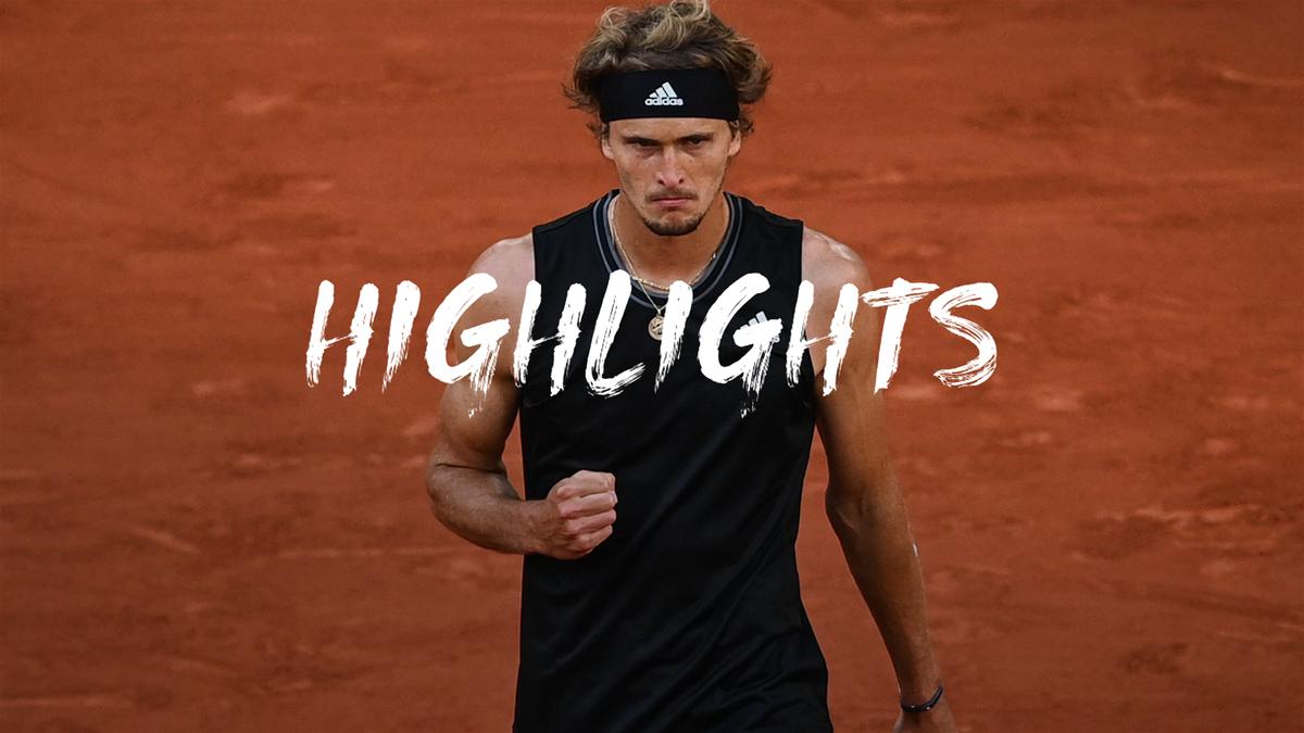 Roland Garros | Zverev slacht vermoeide Davidovich Fokina