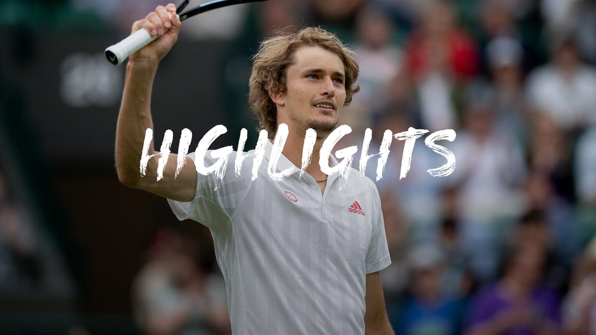 Wimbledon| Hoogtepunten Zverev - Griekspoor