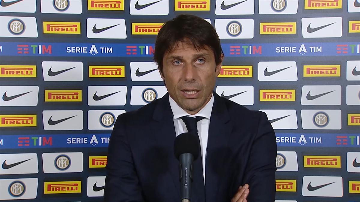Antonio Conte dopo Inter-Sassuolo 3-3