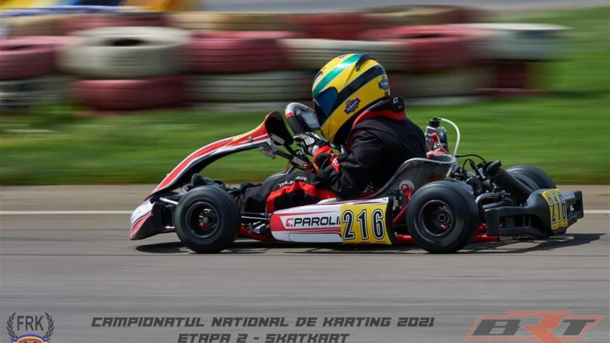 Lucas Niță, puștiul care a prins gustul kartingului datorită lui Niki Lauda