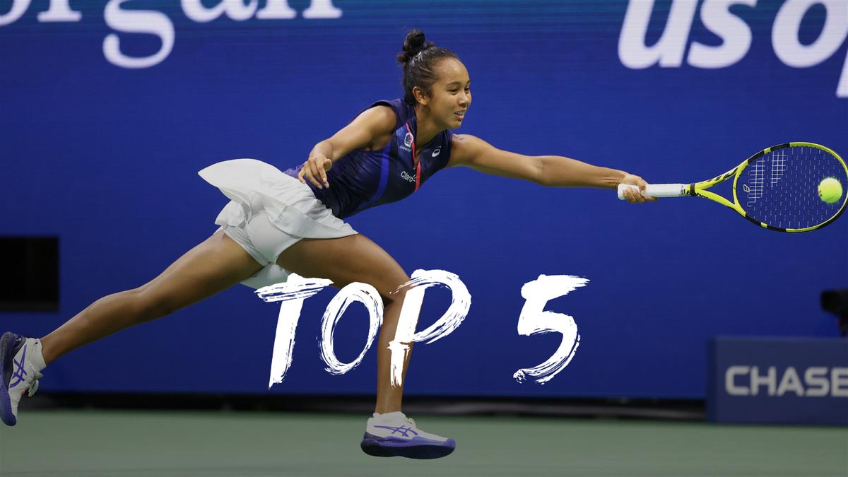 US Open   Dit zijn de vijf mooiste punten van dag 11
