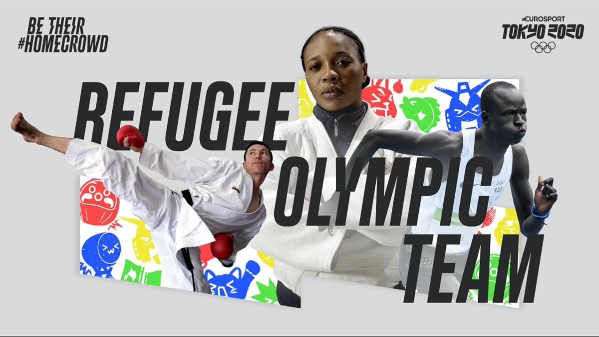 Eurosport lance une campagne internationale pour soutenir  l'équipe olympique des réfugiés
