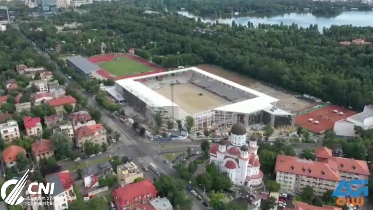 """Stadionul """"Arcul de Triumf"""" / Sursa foto: CNI"""