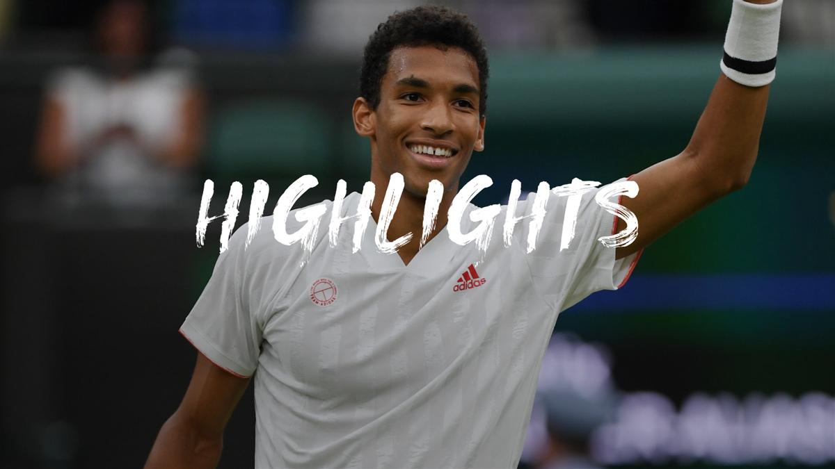 Wimbledon   Auger-Aliassime verrast Zverev