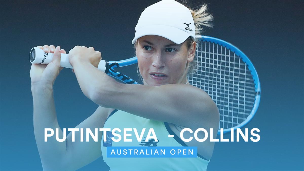 Australian Open: Highlights Putintseva vs Collins