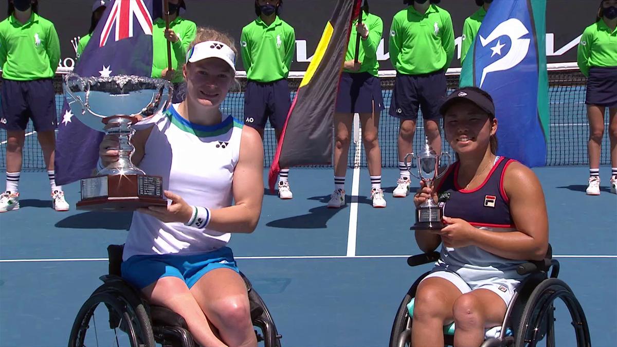 Australian Open: Highlights De Groot - Kamiji