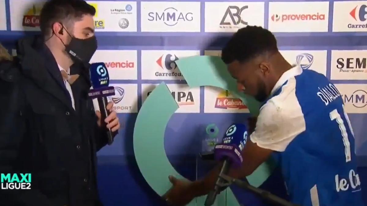 Mamadou Diallo, jucătorul lui Grenoble