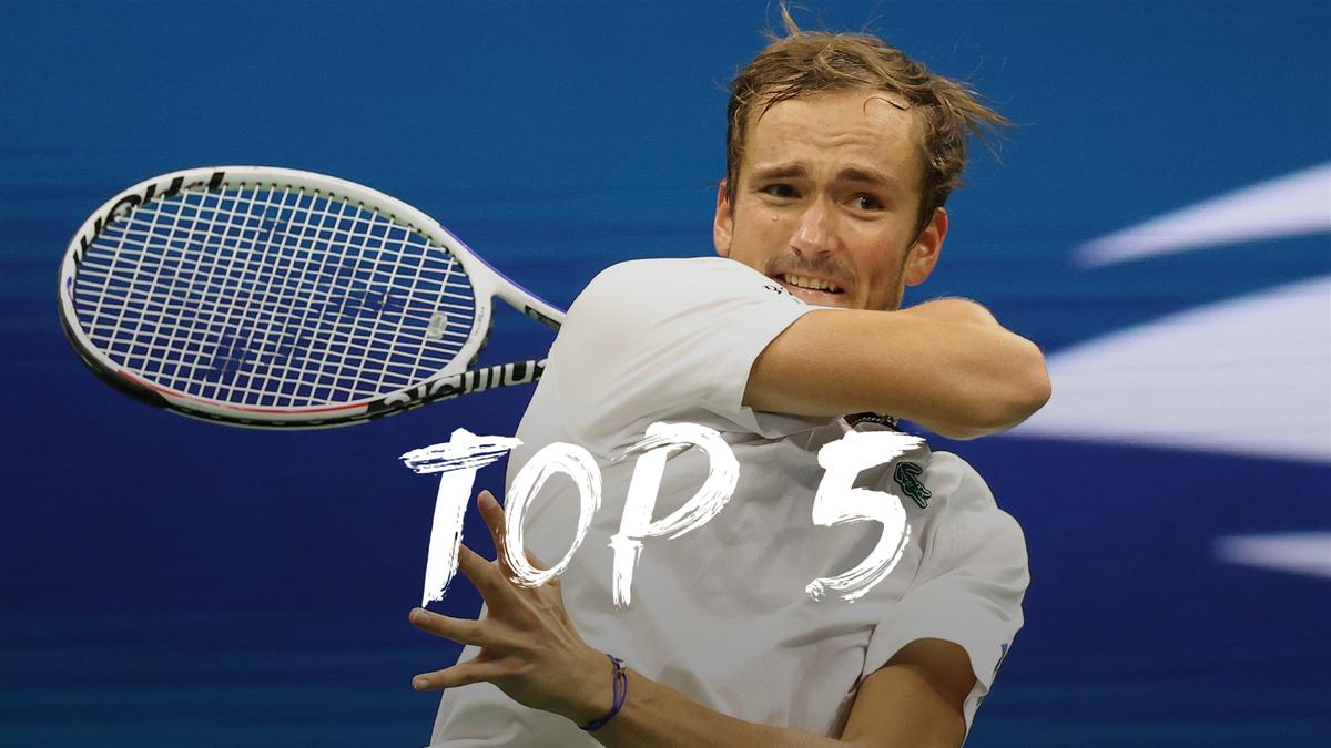 US Open   Dit zijn de vijf beste en mooiste punten van dag 3