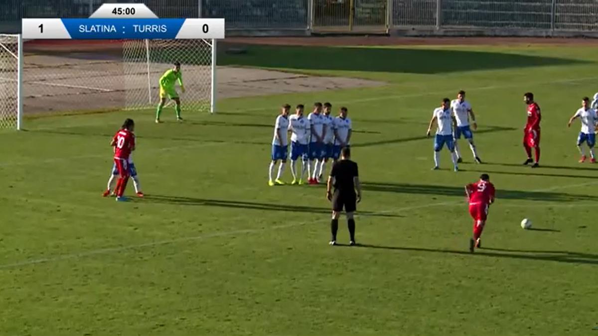 CSM Slatina - Turris 2-1, în Liga a 2-a (Sursa foto: Oltenia TV)