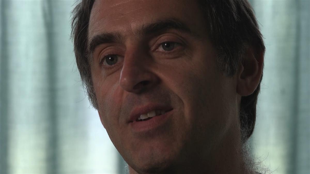 Ronnie O'Sullivan, în dialog cu Eurosport