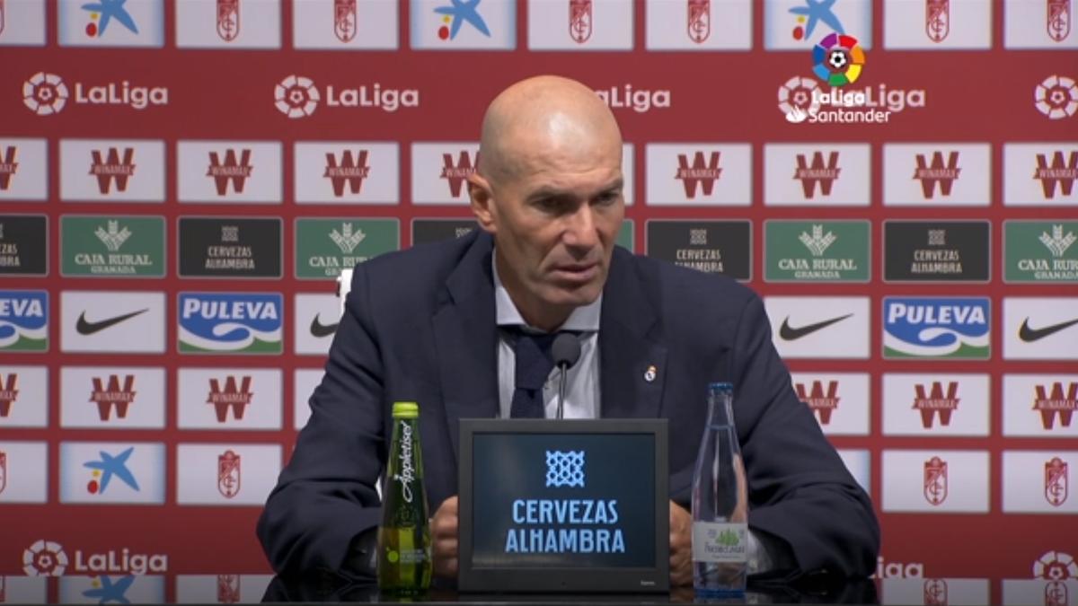 Zinedine Zidane a vosrbit înaintea meciului cu Villareal