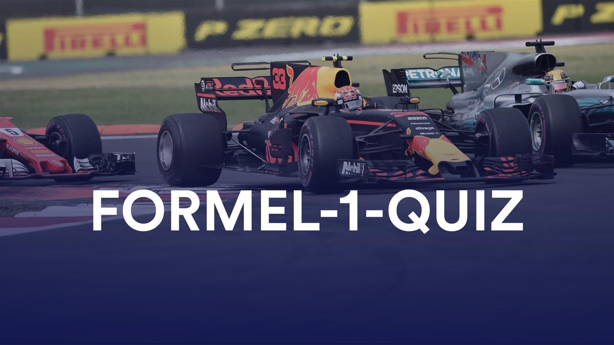 QUIZ Formel 1