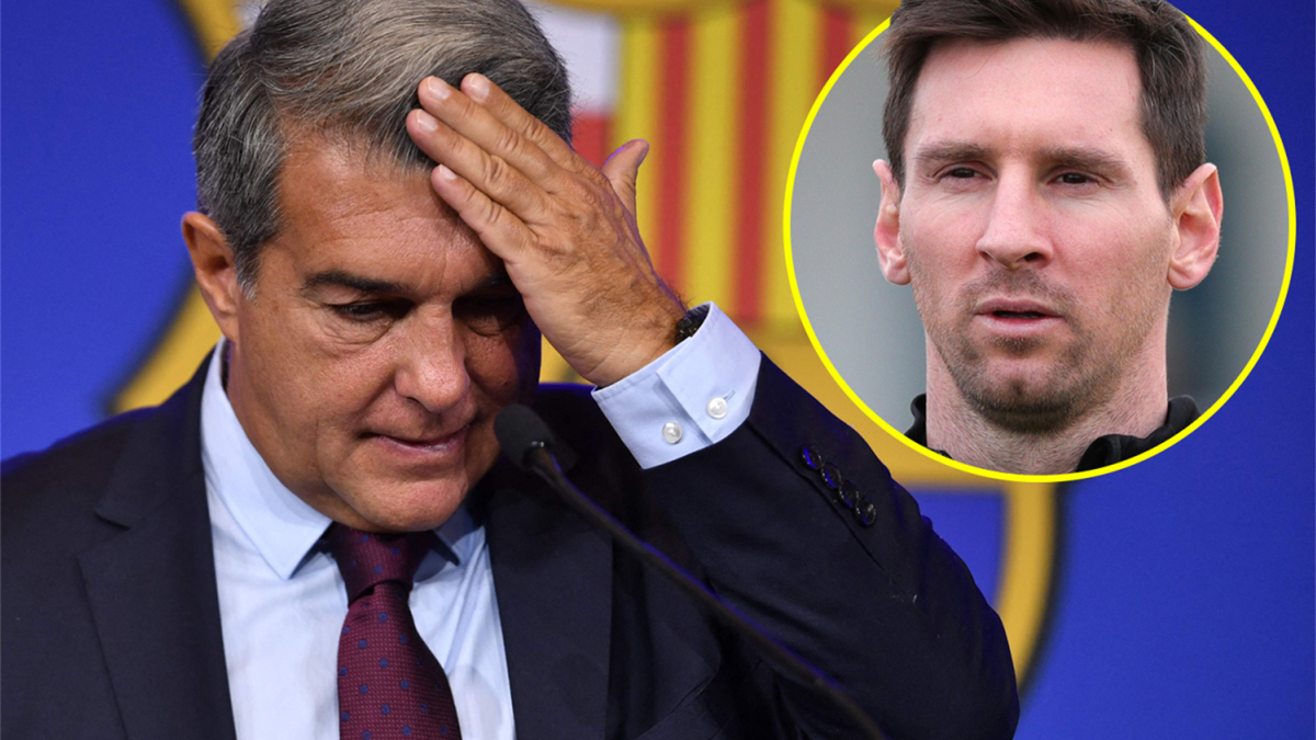 Joan Laporta & Leo Messi