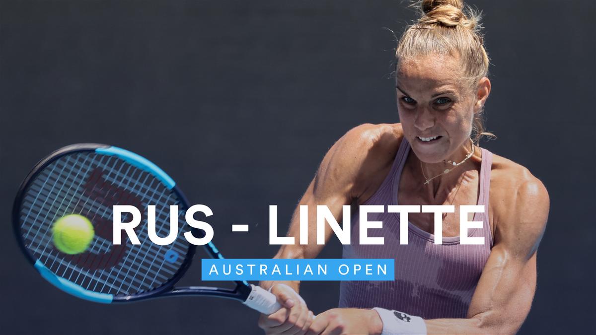 Australian Open - Highlights Rus vs Linette
