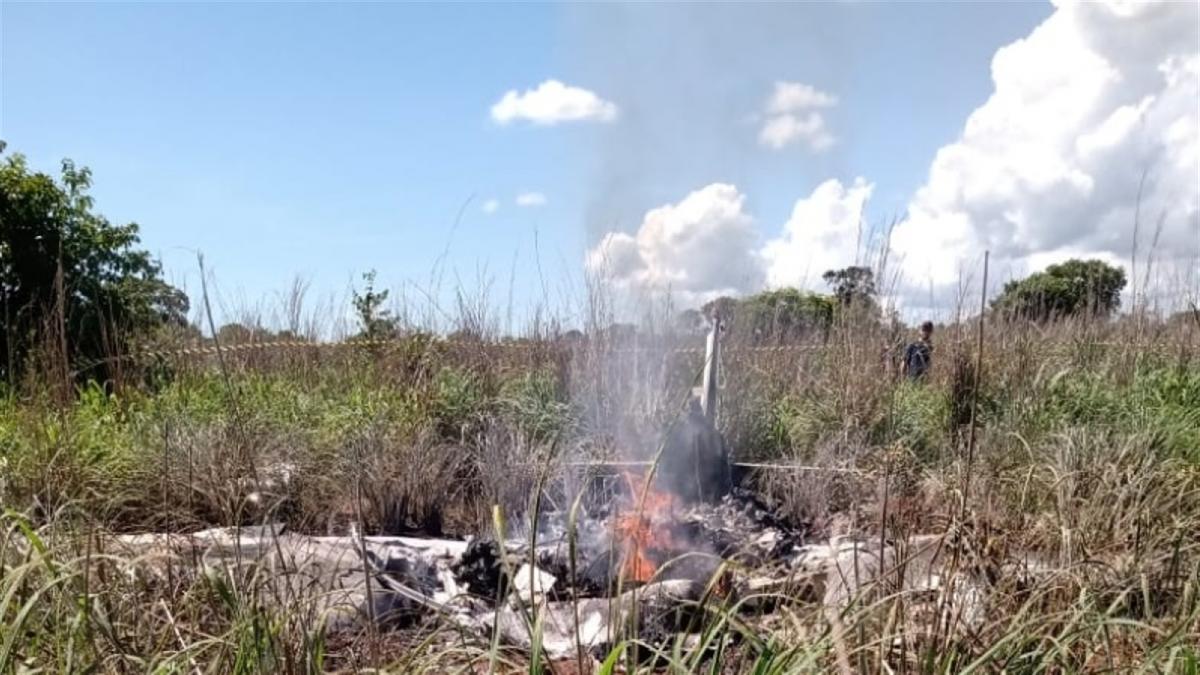 Accident aviatic în Brazilia