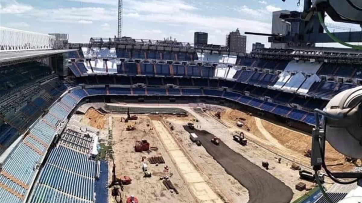 Stadionul lui Real Madrid, Santiago Bernabeu