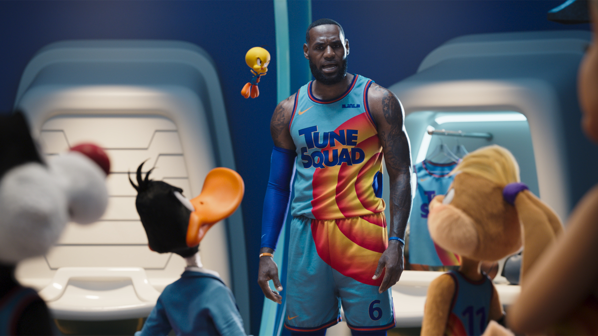 LeBron James e i Looney Tunes, Space Jam 2 - Courtesy Warner Bros. Pictures