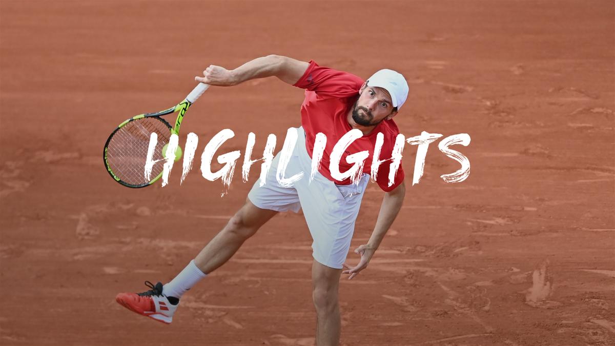 Roland-Garros: Ronde 1 -  Zverev - Otte