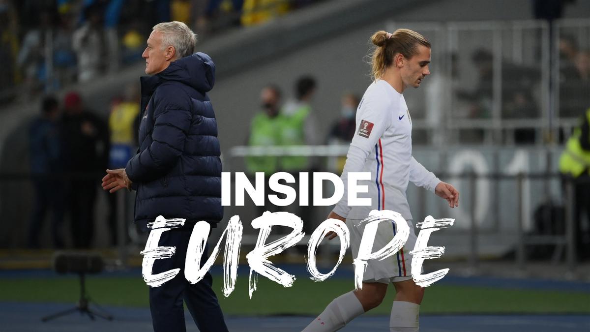 Inside Europe Deschamps and Griezmann