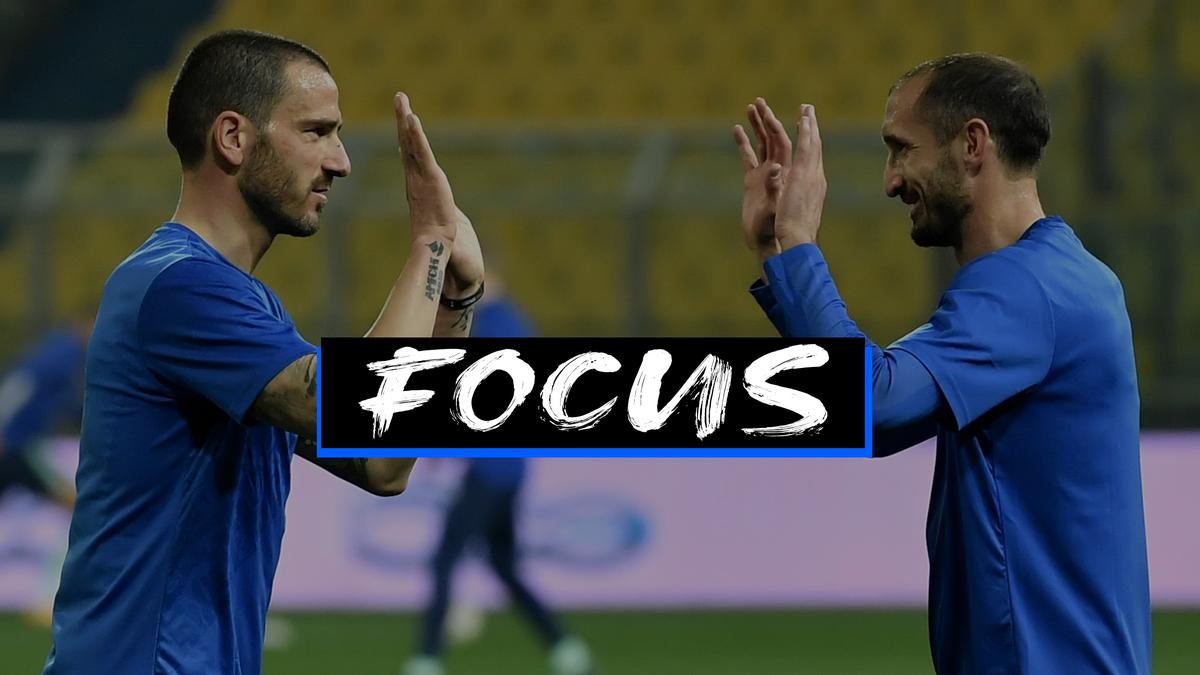 Bonucci, Chiellini e la metamorfosi Azzurra: una garanzia in difesa