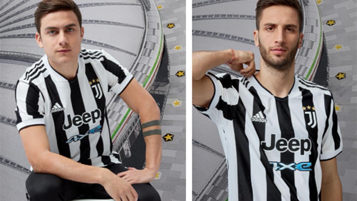 Juventus, ecco la nuova maglia