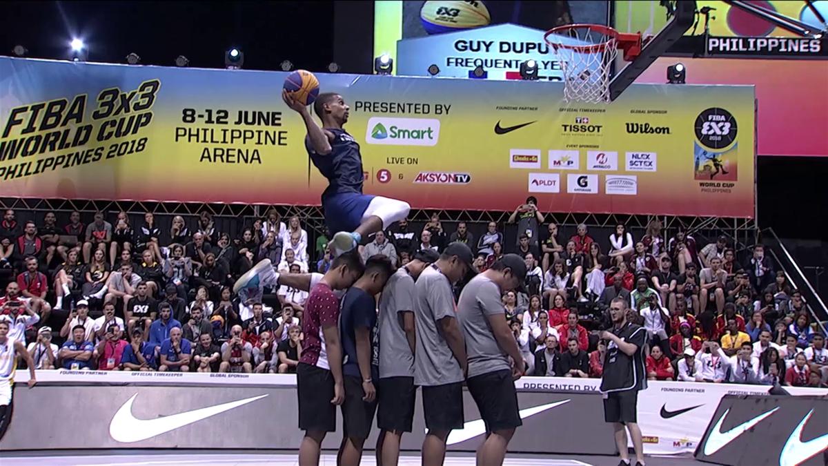 3x3 Basket-ball World Cup : Dunk Contest Highlights - Day 5