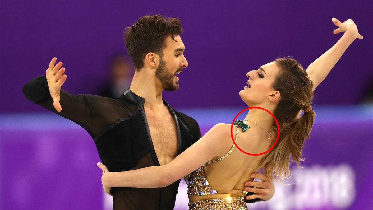 Gabriella Papadakis and partner Guillaume Cizeron