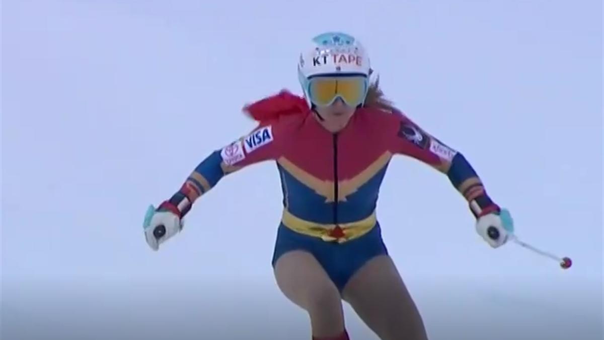 Julia Mancuso bei ihrem letzten Rennen