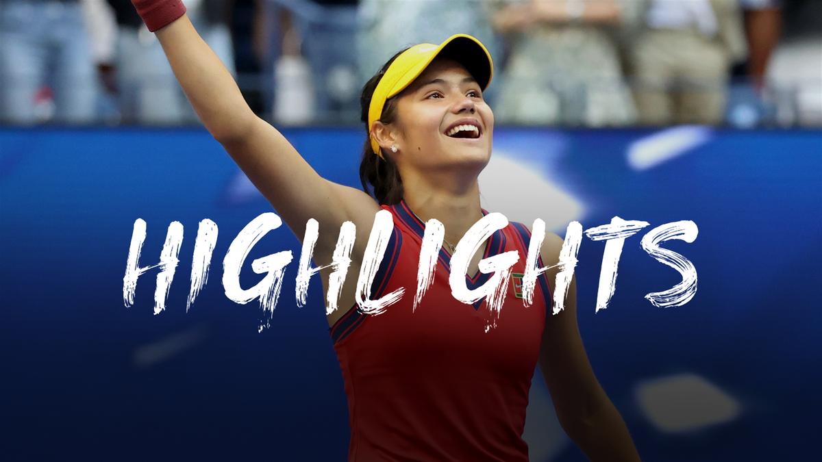US Open  Qualifier Raducanu (18) pakt historische titel zonder setverlies