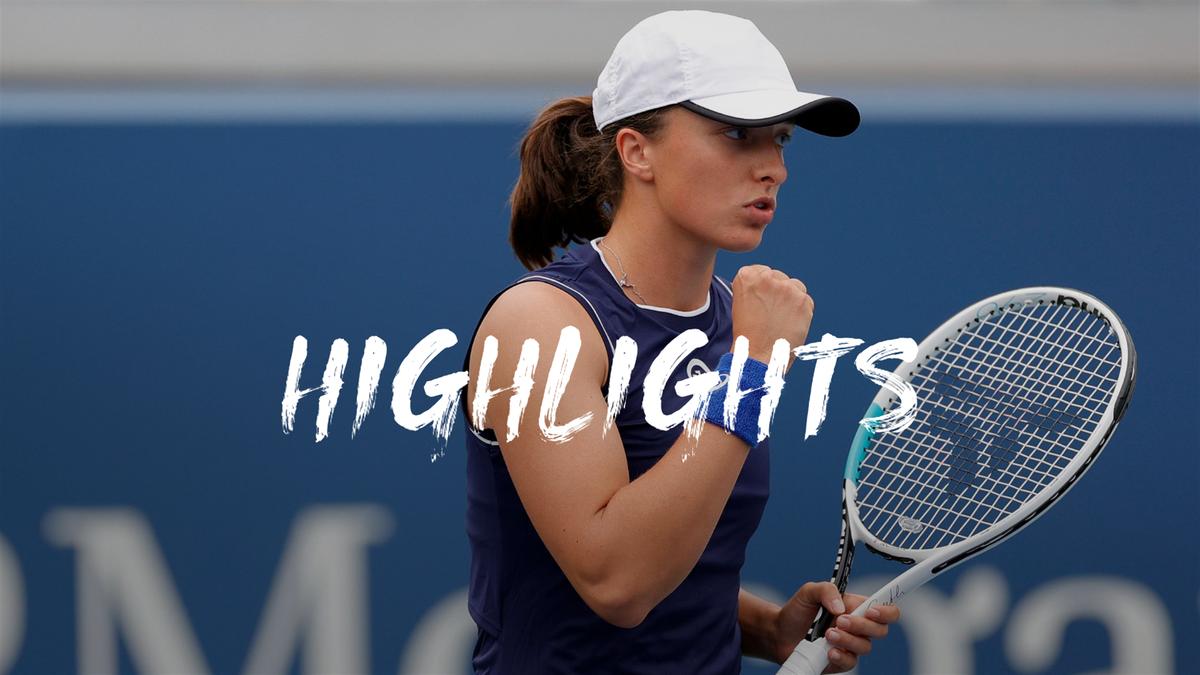 US Open | Swiatek wil weer eens ver komen en gaat goed van start