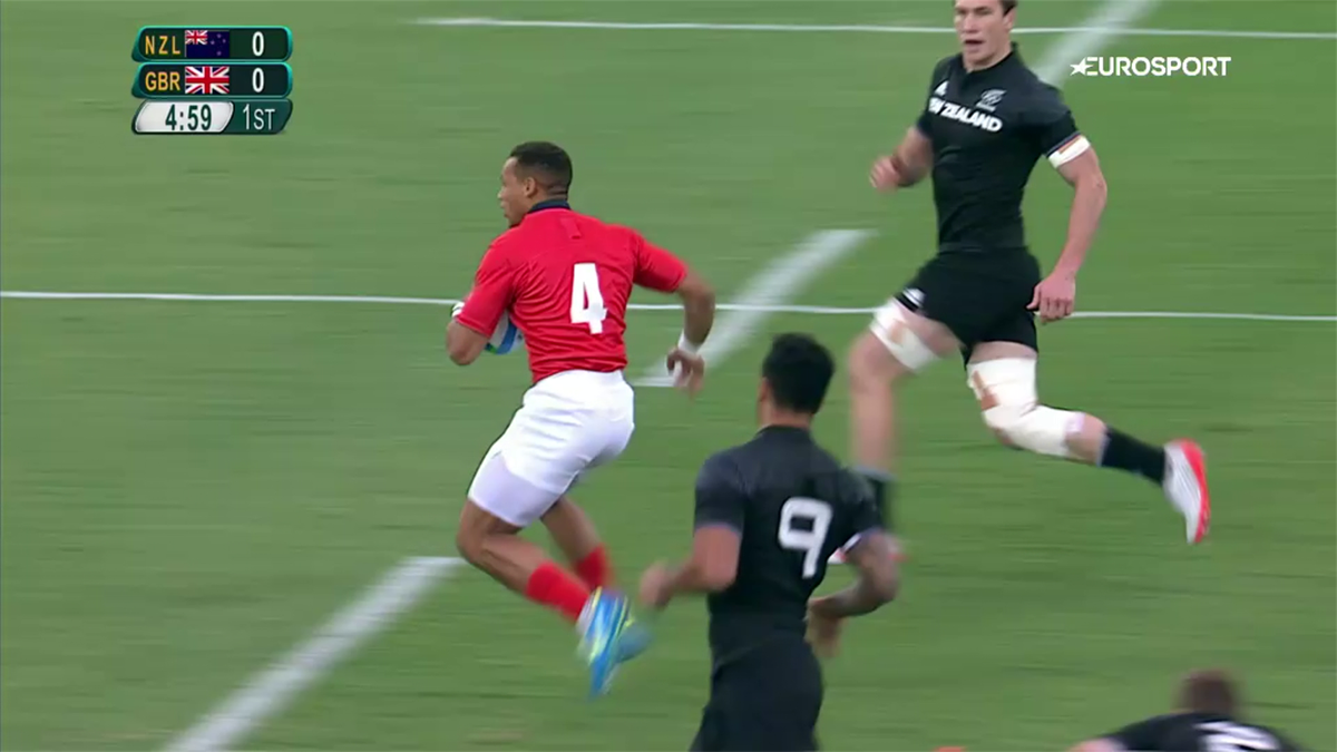 Top rugby sevens tries at the Olympics