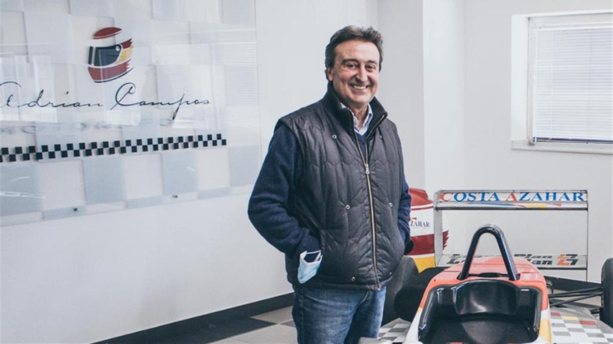 Adrián Campos, expiloto de F1 fallecido a los 60 años (Foto: Campos Racing)