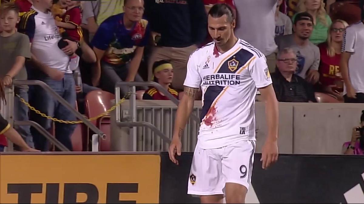 MLS : Zlatan Ibrahimovic's highlights against Real Salt Lake
