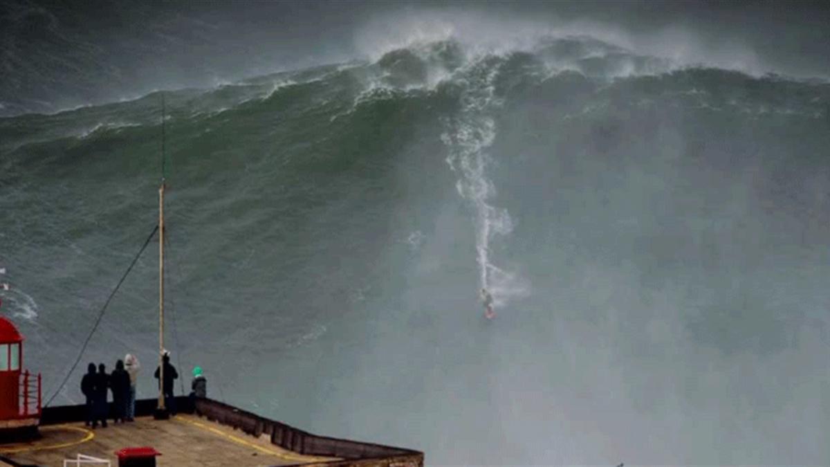 Nazaré surf olas