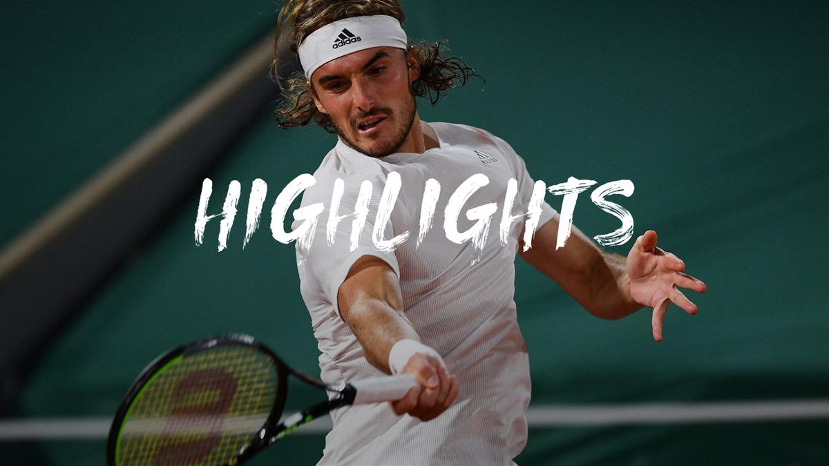 Roland Garros | Tsitsipas vecht zich langs servicegeweld Isner