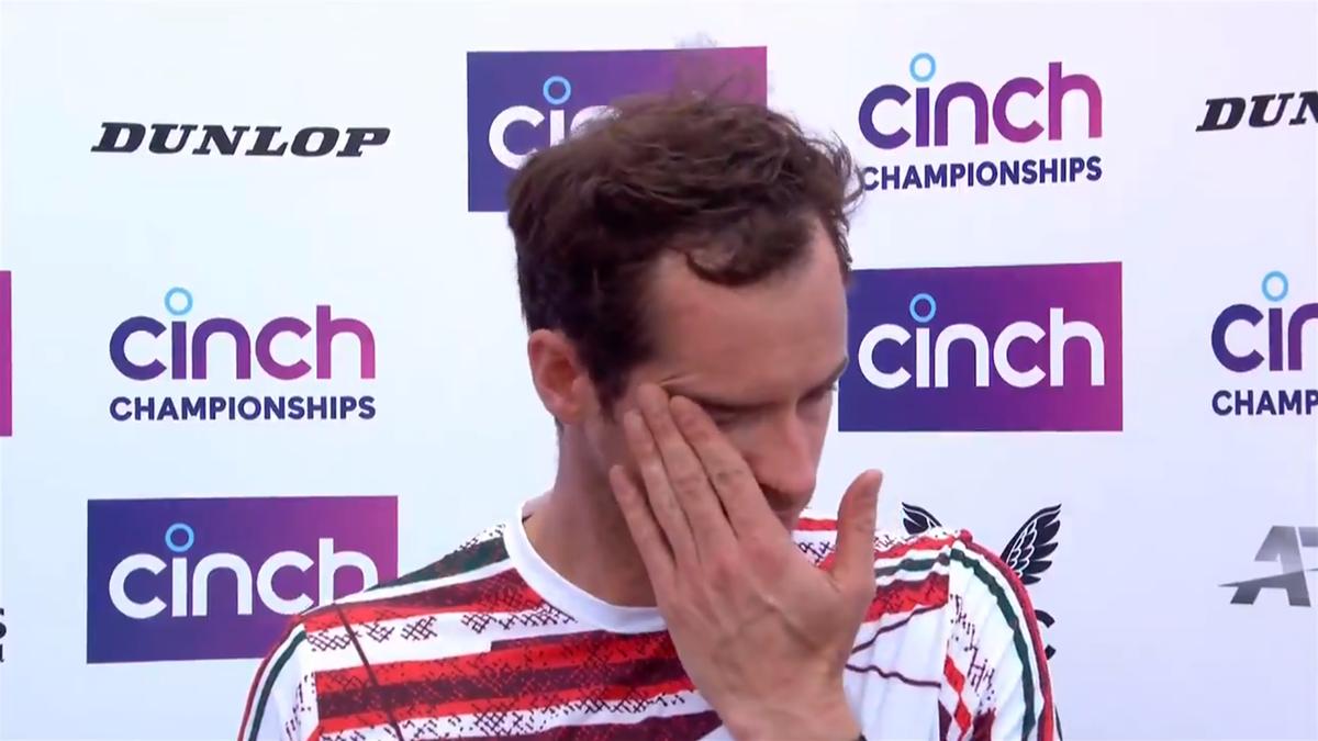 Andy Murray - Queen's 2021