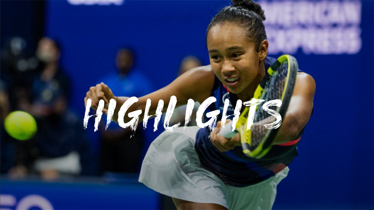 US Open | Samenvatting Fernandez - Osaka