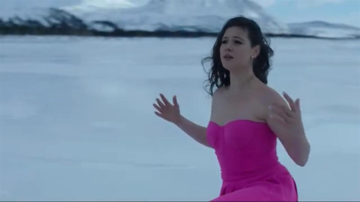 Елена Ильиных в клипе
