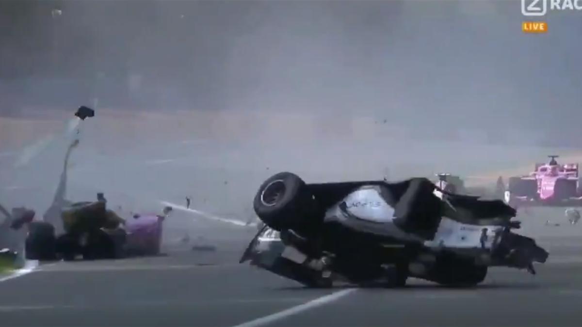 Авария в «Формуле-2»