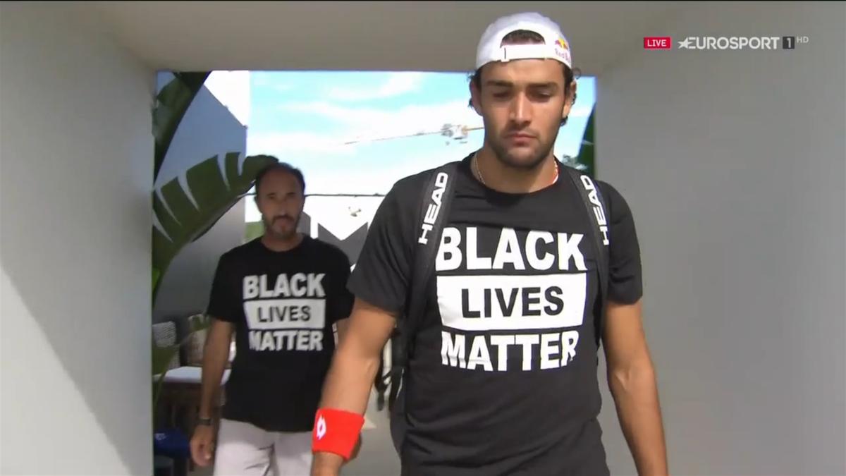 Berrettini,  Black Lives Matter