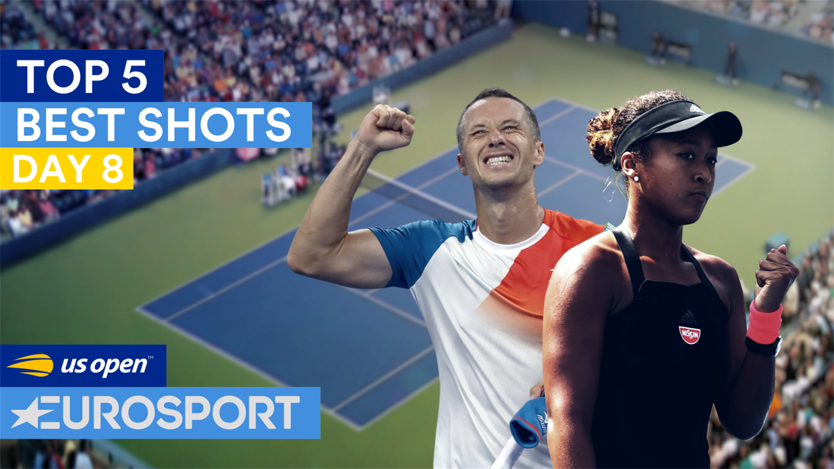 US Open Day 8 : Top 5 points