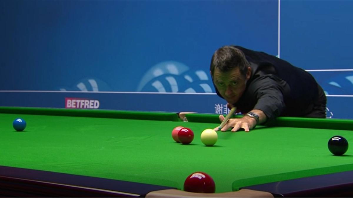 Ronnie O'Sullivan bei der Snooker-WM 2020