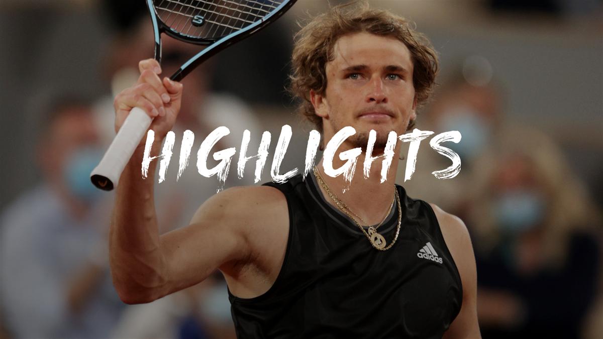 Highlights: Zverev too good for Djere as he progresses in Paris
