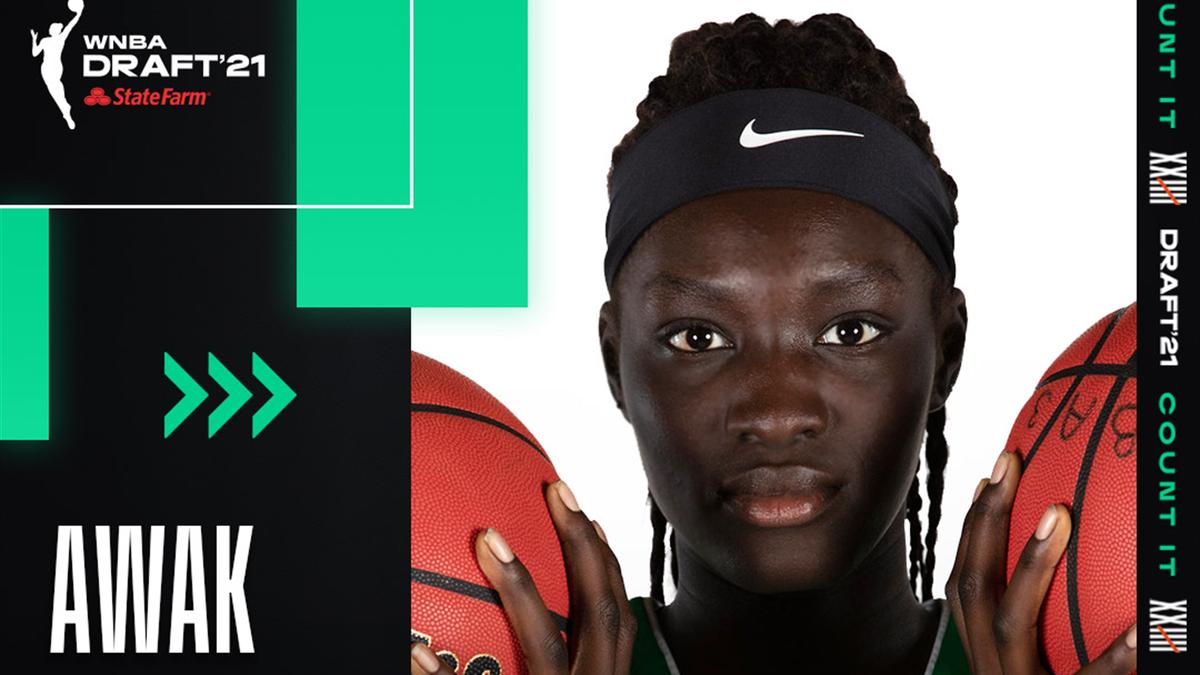 Awak Kuier, n.2 al Draft WNBA per le Dallas Wings